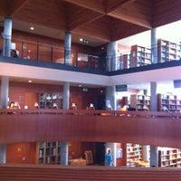 Photo taken at Biblioteca Central de la UNED by Dani D. on 10/6/2012