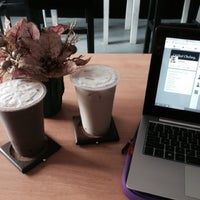 Photo taken at milk tea bistro by Chelsey A. on 11/10/2014