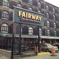 Photo taken at Fairway Market by Brian D. on 9/30/2012