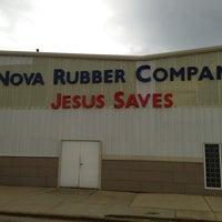 Photo taken at Nova Rubber Company by Neil M. on 8/9/2013