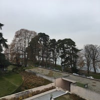 Photo taken at Hilton Evian-les-Bains by Gregory G. on 12/9/2016