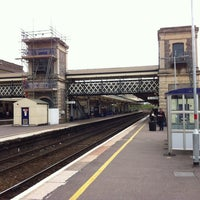 Photo taken at Exeter St Davids Railway Station (EXD) by Andrew A. on 5/10/2013