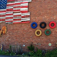 Photo taken at Ellijay Town Square by Victoria M. on 7/4/2014