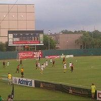 Photo taken at Al Lang Stadium by Charles G. on 6/15/2013