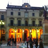 Photo taken at Plaça de la Vila by Lluis C. on 3/16/2013