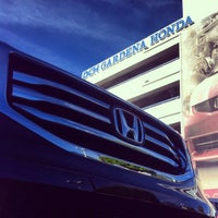 Photo taken at DCH Honda of Gardena by Mike T. on 12/1/2013