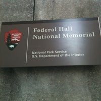 Photo taken at Federal Hall National Memorial by Tom on 2/6/2013