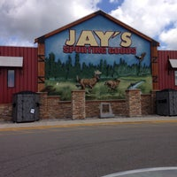Photo taken at Jay's Sporting Goods by Connie H. on 8/5/2016
