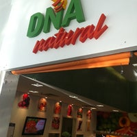 Photo taken at DNA Natural by Marcio S. on 1/3/2013