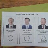Photo taken at Kahramanlar Mustafa Öğütveren Ortaokulu by Hande D. on 8/10/2014