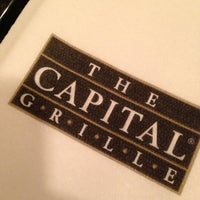 Photo taken at The Capital Grille by Kakum M. on 5/30/2013