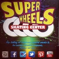 Photo taken at Super Wheels Skating Center by Kakum M. on 2/23/2013