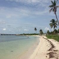 Photo taken at Bahia Honda Key by Luca A. on 8/16/2013
