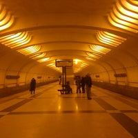 Photo taken at metro Ulitsa Akademika Yangelya by Alexander E. on 2/17/2013