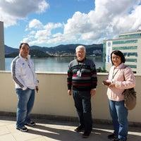 Photo taken at Mirantes Restaurante - JFSC by Joaquim M. on 5/30/2014