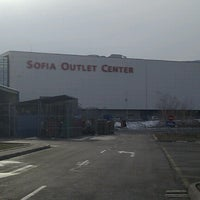 Photo taken at Sofia Outlet Center by Vasil D. on 1/17/2013