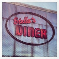 Photo taken at Stella's Diner by Hannah M. on 5/6/2013