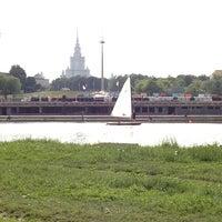 Photo taken at Воробьёвский пруд by Vitalii L. on 5/31/2013