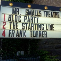 Photo taken at Mr. Smalls Theatre by Alessandro O. on 6/1/2013