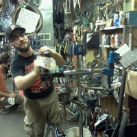 Photo taken at Kraynicks Bike Shop Inc by Alessandro O. on 8/31/2013