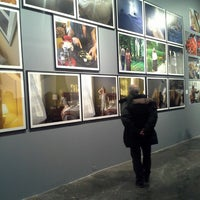 Photo taken at Space Art Gallery by Alessandro O. on 1/25/2014