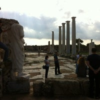 Photo taken at Salamis Ruins by H.Tonguc Y. on 11/10/2012