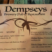 Photo taken at Dempsey's Brewery Pub & Restaurant by Justin V. on 7/4/2015