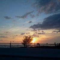 Photo taken at Johns Pass Bridge by Pamela H. on 1/12/2013