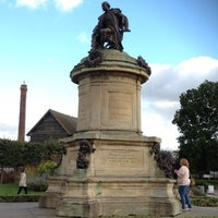 Photo taken at The Gower Memorial by Christine N. on 10/6/2012