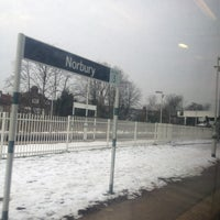 Photo taken at Norbury Railway Station (NRB) by Nadarajah P. on 1/23/2013