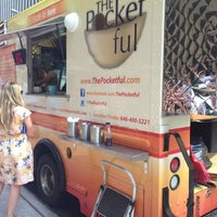 Photo taken at The Pocketful by NYC Brunch Babes on 7/16/2013