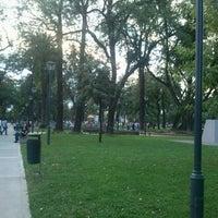 Photo taken at Plaza Belgrano by Maria Valeria T. on 4/27/2013