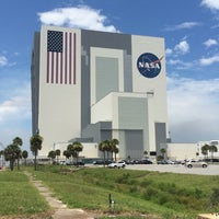 Photo taken at Kennedy Space Center Vehicle Assembly Tour by John V. on 7/22/2015