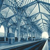 Photo taken at Estação Ferroviária da Gare do Oriente by Daniel M. on 10/22/2012