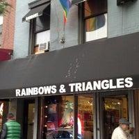Photo taken at Rainbows & Triangles by UNICORNO on 10/11/2013