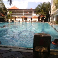 Photo taken at Nirmala Swimming Pool by Moio S. on 6/25/2013