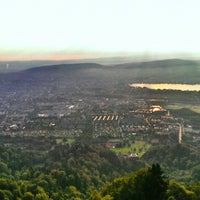 Photo taken at Uetliberg Aussichtsturm by George E. on 7/10/2013