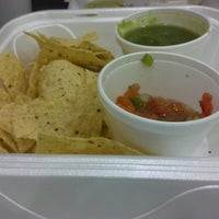 Photo taken at Ancho Burrito Company by Elaine J. on 3/6/2013