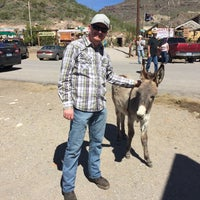 Photo taken at Oatman, AZ by Dameon J. on 3/13/2017