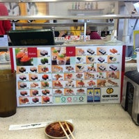 Photo taken at Genki Sushi by JonaAnne F. on 1/6/2013