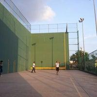 Photo taken at Unidad Deportiva de Ciudad Madero by Manuel S. on 6/26/2013