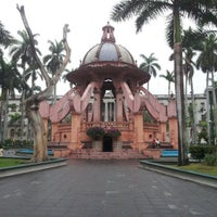 Photo taken at Plaza De Armas by Manuel S. on 1/27/2013