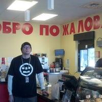 Photo taken at Dazbog Coffee - Northglenn by Bill R. on 4/10/2013