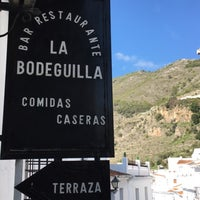 Photo taken at La Bodeguilla de Frigiliana by Jose Manuel G. on 1/1/2017
