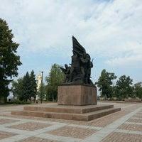 Photo taken at Мемориал Героям Ольшанцам by Aleksandr N. on 9/24/2015