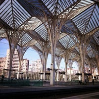 Photo taken at Gare do Oriente Train Station by Joana R. on 2/5/2013