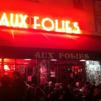 Photo taken at Aux Folies by Ana D. on 12/7/2013