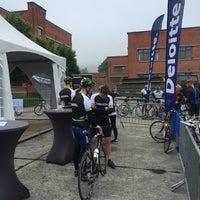 Photo taken at Tour De Namur Cyclo by Matthias L. on 5/28/2016