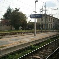 Photo taken at Stazione Bergamo by Marcello F. on 9/21/2012