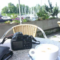 Photo taken at Stationscafe Enkhuizen by Ron d. on 6/17/2013
